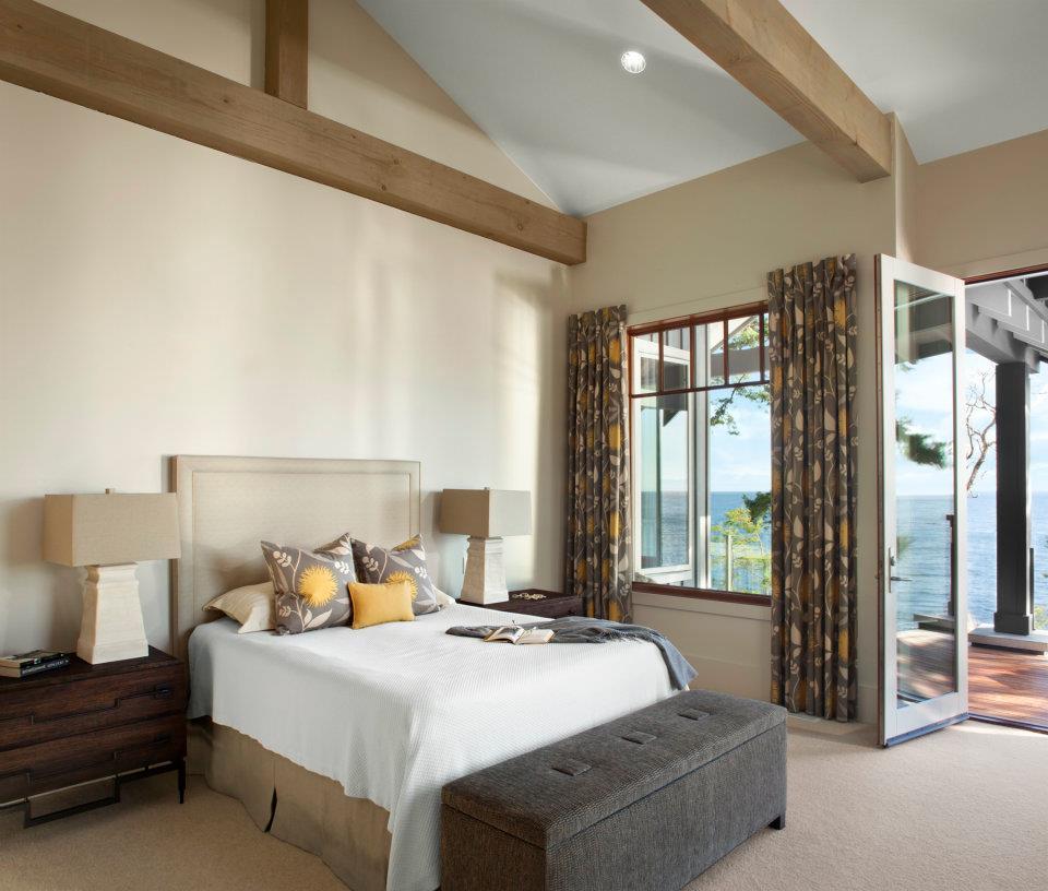 Bowen Island Master Bedroom